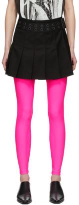 Junya Watanabe Black Pleated Miniskirt