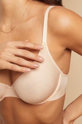 Negative Underwear Silky Demi Bra in Peach