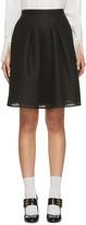 Burberry Black Duddon Skirt