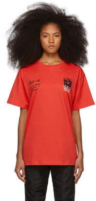 Off-White Red Monalisa T-Shirt