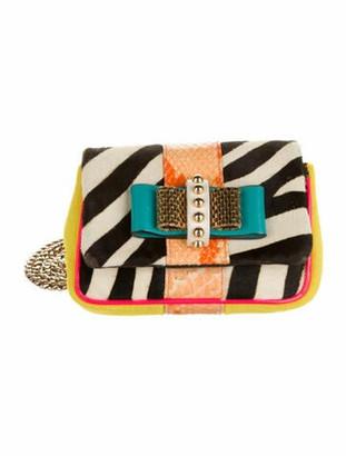 Christian Louboutin Mini Sweet Charity Crossbody Bag multicolor