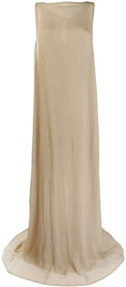Ann Demeulemeester Sleeveless Maxi Dress