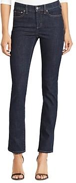 Ralph Lauren Ralph Premier Straight-Leg Jeans in Rinse Wash