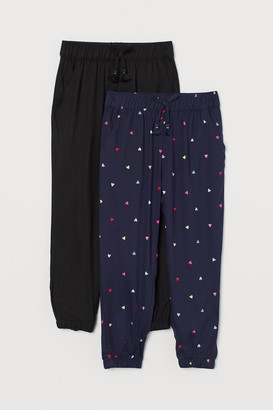 H&M 2-pack Pull-on Pants