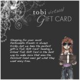 Tobi Gift Card