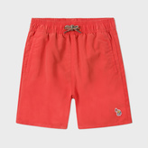 Paul Smith Boys' 7+ Years Coral Swimming Shorts With Dinosaur Print
