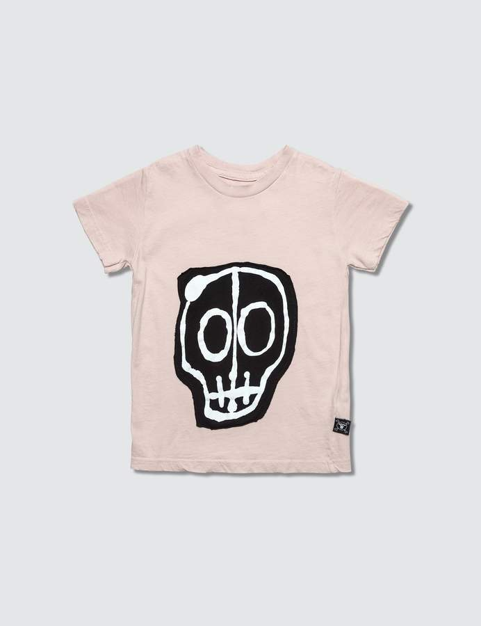 Nununu Skull Mask Patch S/S T-Shirt