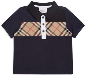 Burberry Kids Vintage Check Polo Shirt