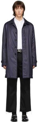 Etro Navy BenEtroEssere Paisley Coat