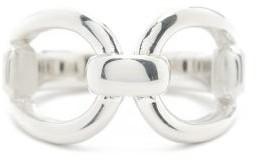 Sophie Buhai Horsebit Sterling-silver Ring - Silver