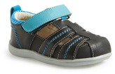 See Kai Run Ryan II Leather Sandal (Baby & Toddler)