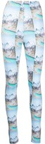 Thumbnail for your product : MAISIE WILEN Mountain Print High-Waisted Leggings