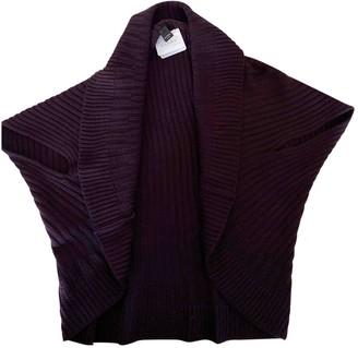 Barba Purple Wool Knitwear for Women