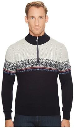 Dale of Norway Hovden Sweater (C-Navy/Blue Shadow/Indigo/Raspberry/Off-White) Men's Sweater