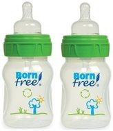 Born Free Active Flow Eco Deco Baby Bottle BPA Free Twin Pack - 2 x 5 oz. Bo...