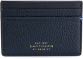 Smythson logo embossed cardholder