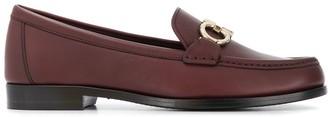 Salvatore Ferragamo Gancini loafers