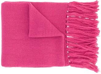 AMI Paris Ami de Coeur scarf