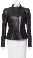 Gianfranco Ferre Tailored Leather Jacket