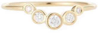 Chicco Zoe 14k Graduated Five-Diamond Ring