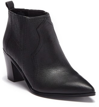 Nine West Cowboy Leather Chelsea Bootie