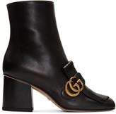 Gucci Black Marmont Fringe Boots