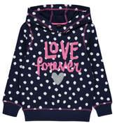 George Love Forever Spot Print Hoodie
