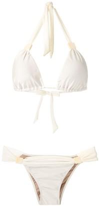Adriana Degreas Silky Triangle Bikini Set