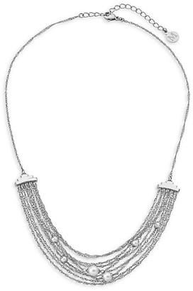 Majorica 4-6MM White Organic Handmade Pearl Multi-Chain Necklace