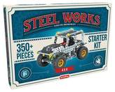 Steel Works Metal 4 X 4 Vehicle Construction Set