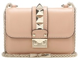 Valentino Garavani Lock Mini Leather Shoulder Bag