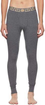 Versace Underwear Grey Medusa Lounge Pants