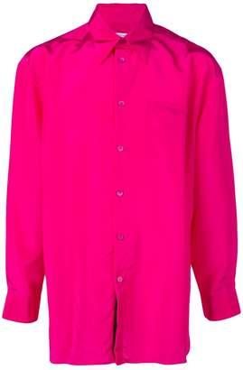 Givenchy silk oversized shirt
