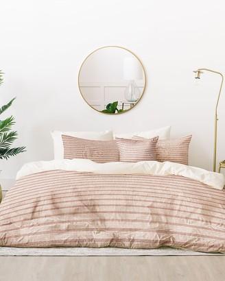 Express Deny Designs Pink Zhi Stripe Bed In A Bag Set
