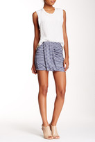 Bella Luxx Side Drape Mini Skirt