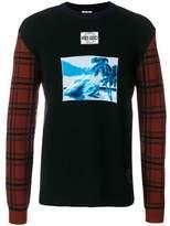 Kenzo Men's Black Wool Sweater.