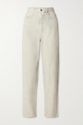 Etoile Isabel Marant Corsy High-rise Tapered Jeans - Mint