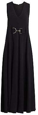 Stella McCartney Women's Isabella Sleeveless Cady Maxi Dress