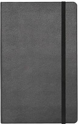 Moleskine Classic Ruled Large Hard Notebook (Black) Wallet