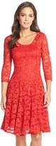 Chetta B Women's 'Magic' Lace Fit & Flare Dress