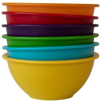 Scullery Fresh Prep Set of 6 Mini Prep Mixing Bowls Multicolour