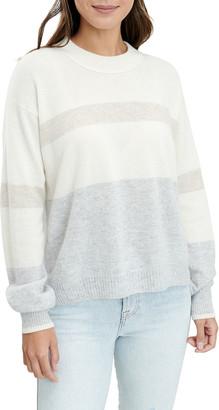 Splendid Gradient Drop-Shoulder Cashmere Sweater