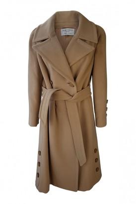 Jean Patou Camel Wool Coats