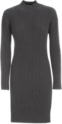 Kenzo Ribbed Short Dress