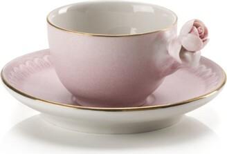 Villari Coffee Cup And Saucer Set