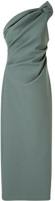 Rachel Gilbert Merida one-shoulder dress