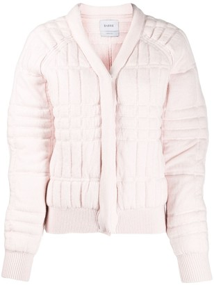 Barrie Quilted Bomber Jacket