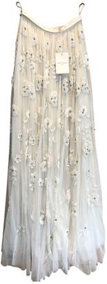 Needle & Thread White Skirt for Women