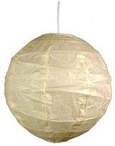 "Best Inexpensive Overhead Light Fixture - 12\"" Maru Japanese Hanging Ceiling Lamp Paper Lantern"