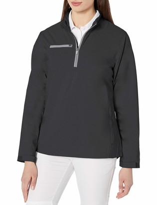 Charles River Apparel Women's Riverside Lightweight Golf Pullover
